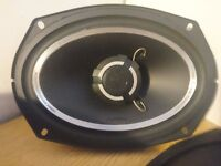 2 x 6 by 9 Vibe car speakers