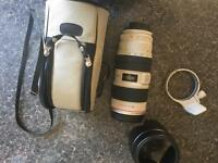 Canon EF 70-200mm f/2.8 L IS USM lens