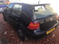 2002 Vw golf 1.6 petrol 5 doors autimatic