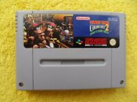 DONKEY KONG COUNTRY 2 diddy's kong quest - snes / super nintendo