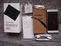 ****** SAMSUNG GALAXY A5 6,UNUSED, UNWANTED GIFT, COMES WITH 12 MONTHS SAMSUNG WARRANTY ******