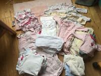 Job lot of baby infant clothing