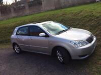 2004 Toyota Corolla tspirit diesel 7 months mot £795