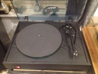 Dunlop Systemdek turntable with Rega rb250 arm and om5 cartridge