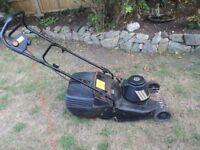 Hayter hobby 4.1 electric lawn mower