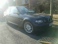 Bmw 320d compact breaking.