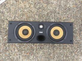B&W center speaker for home entertainment system