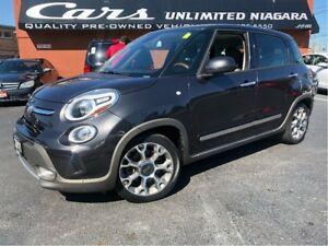 2015 Fiat 500L Trekking | NAVI | PANO | HEATED SEATS ...