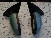 Two Corsa mirrors