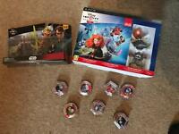 Disney infinity 2.0 and 3.0 sets and 40+ power disks