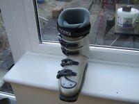 Ladies Tecnica Duo 90 Plus L Ultrafit Ski Boots Silver/Steel Grey Size 23 ( UK 4 )