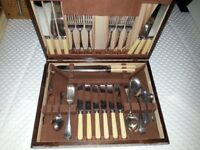 Sheffield Silver Plate & Cutlery Company Canteen