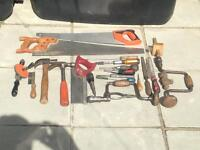 Assorted Carpentry Tools - Offers Welcome