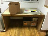 Office furniture with draws