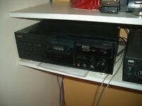 TEAC v-1050 3 head cassette deck