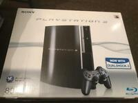 Playstation in very good condition almost like new with box