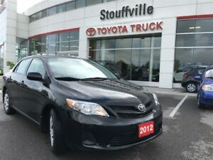 2012 Toyota Corolla CE - Fun Manual, Excellent Condition!