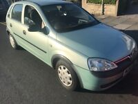 VAUXHALL CORSA 1.2 CHEAP TO RUN TAX AND INSURE CHEAP 5 DOOR CAR