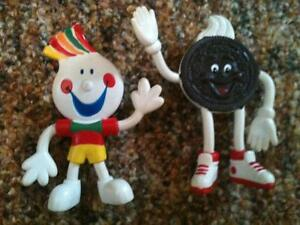 chips ahoy kevin and oreo bendy flexible toys $7 each