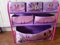 Minnie Mouse Toy storage unit
