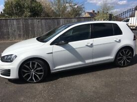 VW GOLF, GTD, DSG, 2.0 TDI, with SAT NAV, Automatic, 65 plate