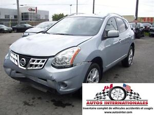 2011 Nissan Rogue SL AWD 4X4 RACK TOIT SROOF MAG CAMERA DE RECUL