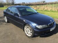 2003 BMW 318i SE Coupe 1yrs Mot 6mth warranty