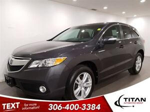 2014 Acura RDX AWD|CAM|Leather|Sunroof|NAV