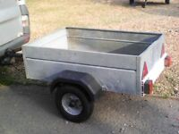TRAILER APPROX 4FT. X 3 FT.