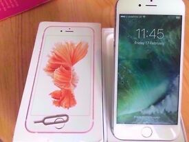iPhone 6 -16gb White & Silver Boxed *UNLOCKED TO ANY NETWORK OR SIM PROVIDER *