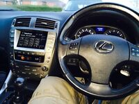 Lexus IS 250 clean and fast.