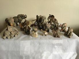 TUSKERS elephant ornaments