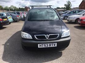 2004 Vauxhall zafira petrol 1.6manual 1 year mot