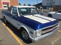1969 Chevy pick-up C10 half ton $19,495.00