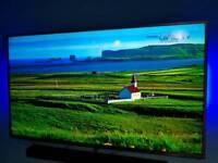 "Samsung UE55JU6800 55"" 4K Ultra HD HDR Smart Freeview Freesat HD LED"