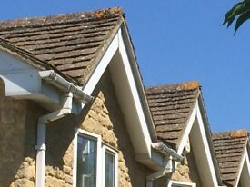 Cotswold Roofing Tiles (Bradstone), 80 sq metres, + 21 m.run of ridge tiles. Offers invited