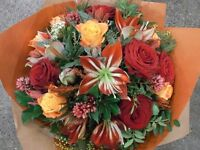 Part-time Experienced Florist required on Mondays & Tuesdays for Boutique Flower Shop & Concession