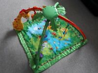 Fisher Price rainforest baby delux play gym
