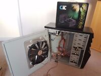 InWin Gaming PC Tower case with CIT 650W power supply