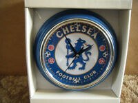 """CHELSEA F.C"" Quartz clock. New and supplied with battery."