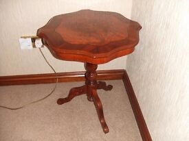 Wooden Lamp Table - EXCELLENT condition