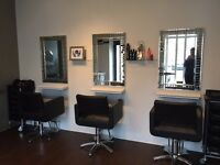 Salon Space to rent in Cambridge with parking.