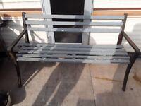 For sale garden bench