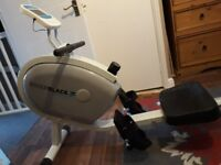 Roger black gold medal rower rowing machine