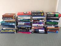 70 Non Fiction and fiction books mixed