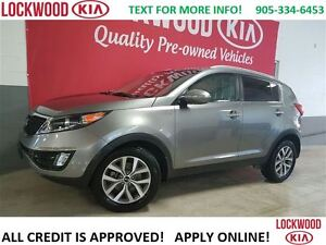 2015 Kia Sportage EX - ONE OWNER TRADE, NO ACCIDENT'S