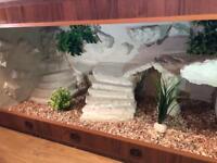 Handmade Vivarium Terrarium 120x60x60 Reptiles - professional
