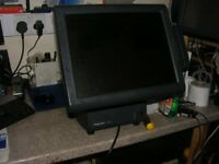 "Epos system till 15"" panasonic new lcd & touch Cus display msr 4gb ram 3.2ghz was £899 Specia £699"