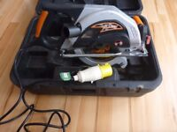 RAGE CIRCULAR SAW 110v VERY LITTLE USED