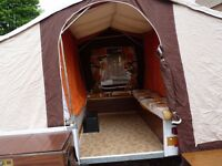 TRIGANO 5-BERTH TRAILER-TENT IN GOOD CLEAN CONDITION